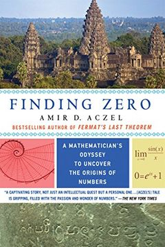 portada Finding Zero: A Mathematician's Odyssey to Uncover the Origins of Numbers