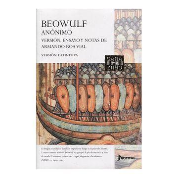 portada Beowulf [Version Ensayo y Notas de Armando roa Vial]
