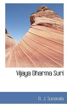 portada vijaya dharma suri