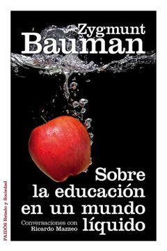 portada Sobre la Educacion en un Mundo Liquido