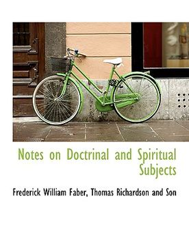 portada notes on doctrinal and spiritual subjects