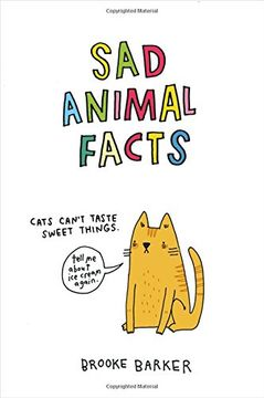 portada Sad Animal Facts (libro en inglés)