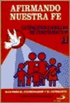 portada Afirmando Nuestra fe, 1 año - Guia Coordinador Catequista