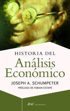 portada Historia del Análisis Económico
