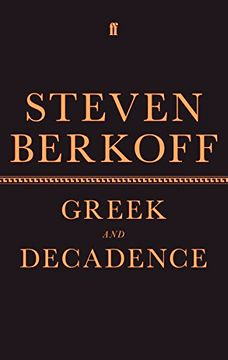 portada Greek and Decadence (Faber Drama) (libro en Inglés)