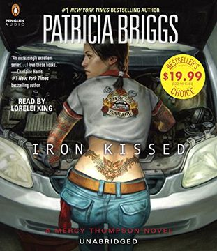 portada Iron Kissed (Mercedes Thompson)