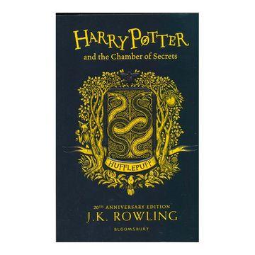 portada Harry Potter Harry Potter and the Chamber of Secrets. Hufflepuff Edition (libro en Inglés)