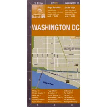 portada mapa coleccion:washington dc