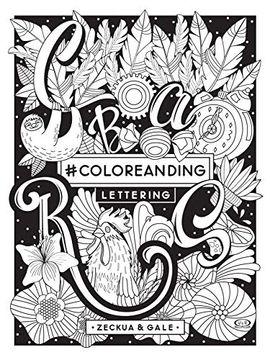 portada Coloreanding Lettering