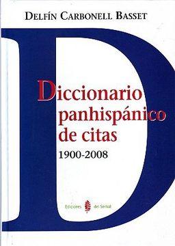 portada Diccionario Panhispánico de Citas (Lexicografía)