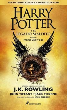 portada Harry Potter 8 ESPAÑOL