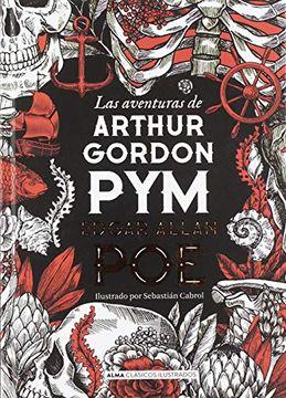 portada Las Aventuras de Arthur Gordon pym
