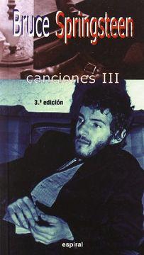 portada Canciones iii de Bruce Springsteen