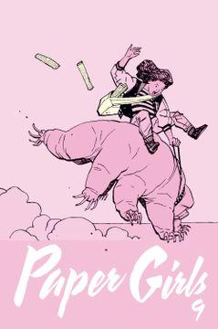 portada Paper Girls nº 09