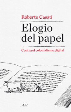 portada Elogio del Papel: Contra el Colonialismo Digital
