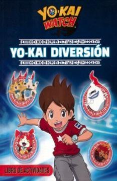 portada YO-KAI WATCH. YO-KAI DIVERSION LIBRO DE ACTIVIDADES