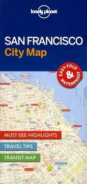 portada Lonely Planet San Francisco City Map (Travel Guide)