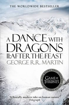 portada A Dance With Dragons (Part Two): After the Feast: Book 5 of a Song of ice and Fire (libro en Inglés)