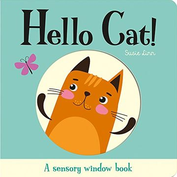 portada Peek-A-Boo Little Cat! (Touch and Trace) (libro en Inglés)