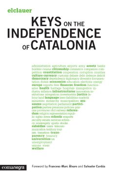 portada Keys on the Independence of Catalonia (libro en inglés)