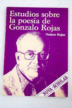 portada Estudios sobre la poesía de Gonzalo Rojas