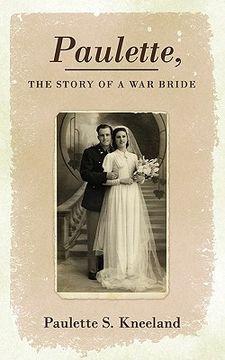 portada paulette, the story of a war bride