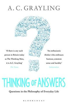 portada Thinking of Answers (libro en Inglés)