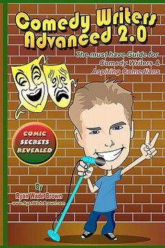 portada comedy writers advanced 2.0 - comic secrets revealed black and white edition