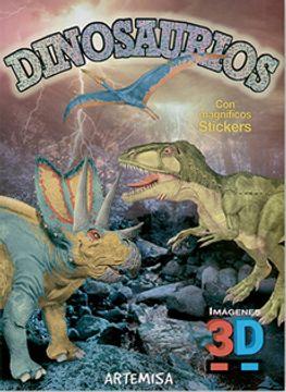 portada Dinosaurios (Imagenes 3d) (Anteojos 3d + Magnificos Stickers) (Rustica)