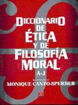 portada Diccionario de Etica y Filosofia Moral. 2t