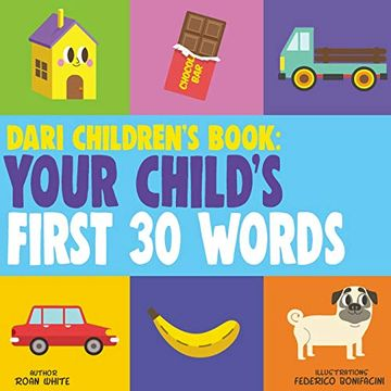 portada Dari Children's Book: Your Child's First 30 Words (libro en inglés)