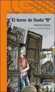 """portada El Terror de Sexto """"b"""""""
