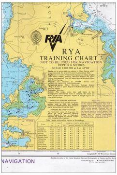 portada RYA Training Chart: No. 3