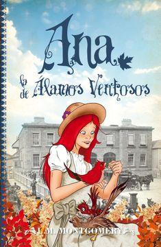 portada Ana, la de Älamos Ventosos (Clásicos Infantiles) - 9788415943242
