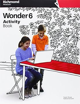portada Wonder 6 Activity + ab cd - 9788466820189 (libro en Inglés)