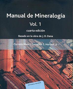 portada Manual de Mineralogia (Vol. I): Basado en la Obra de j. De Dana (4ª Ed. ):