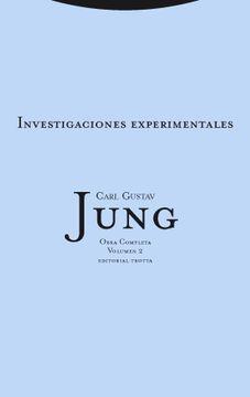 portada Investigaciones Experimentales: Obra Completa Vol. 2. (Obra Completa Carl Gustav Jung)