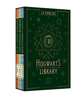 portada Hogwarts Library (harry Potter)