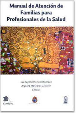portada Manual de Atención de Familias Para Profesionales de la Salud
