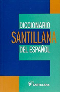 portada Diccionario Santillana del Espanol 2012