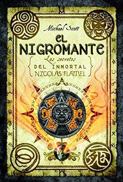 portada Secretos del Inmortal Nicolás Flamel: El Nigromante -Planeta