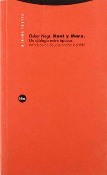 portada Kant y Marx: Un Diálogo Entre Épocas (Minima Trotta) (libro en Español    * ISBN: 8481647195 ISBN-13: 9788481647198    * (26/11/2004))