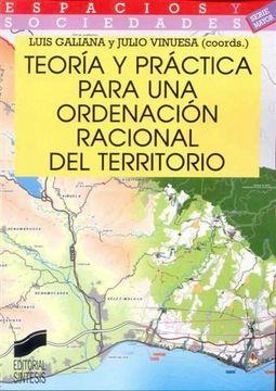 portada Teoria y Practica Para una Ordenacion Racional del Territorio