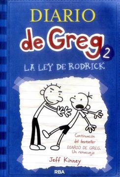 portada Diario de Greg 2: La ley de Rodrick Rust