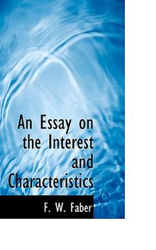 portada an essay on the interest and characteristics