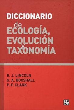 portada Diccionario de Ecología, Evolución y Taxonomía