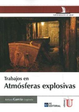 portada Trabajos en Atmosferas Explosivas