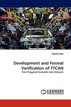 portada development and formal verification of ttcan