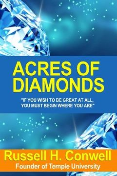 portada Acres Of Diamonds - 1892 by R.H. Conwell