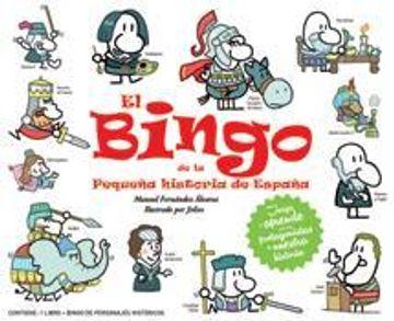 portada El Bingo De La Pequeña Historia De España (Infantil y juvenil (Ficción))